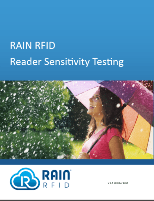 RAIN RFID reader manufacturers are encouraged to provide  data on the reader's receiver sensitivity. Some of them already provide a value, but each of them is measuring this parameter in a different way. Reader sensitivity is not in fact just one value, but a figure which depends on the frequency, the transmit power, the reader functionality...  The goal of this measurement is to provide more information to the system integrator, taking into account not only the tag parameters related to communication between a reader and a tag (Tari, BLF, M, TRext, DR, RTcal, TRca), but also the statistical nature of RFID operation (% of messages correctly interprested by the reader when tags are received with a given signal strength).